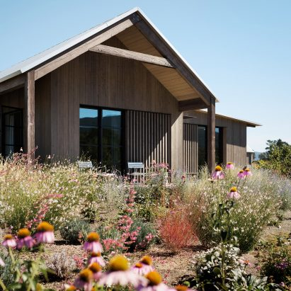 architecture design house. Field Architecture Situates Wood-clad Zinfandel House In California Wine  Country Architecture Design
