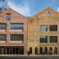 Hawkins\Brown's office extension mirrors Victorian brick warehouse