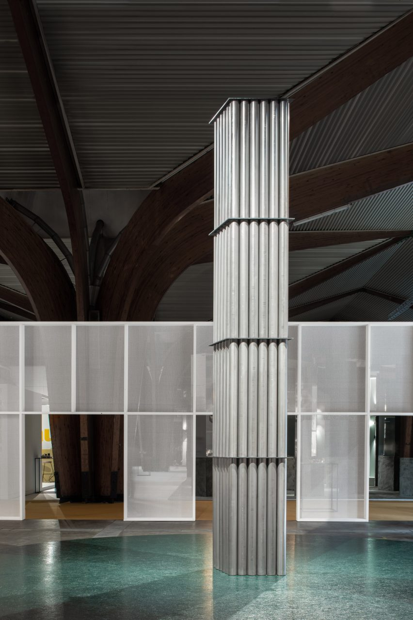 """Studio Verter creates a """"space within a space"""" for 50th anniversary of Biennale Interieur"""