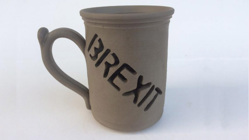 Brexit mug Lee Cartledge