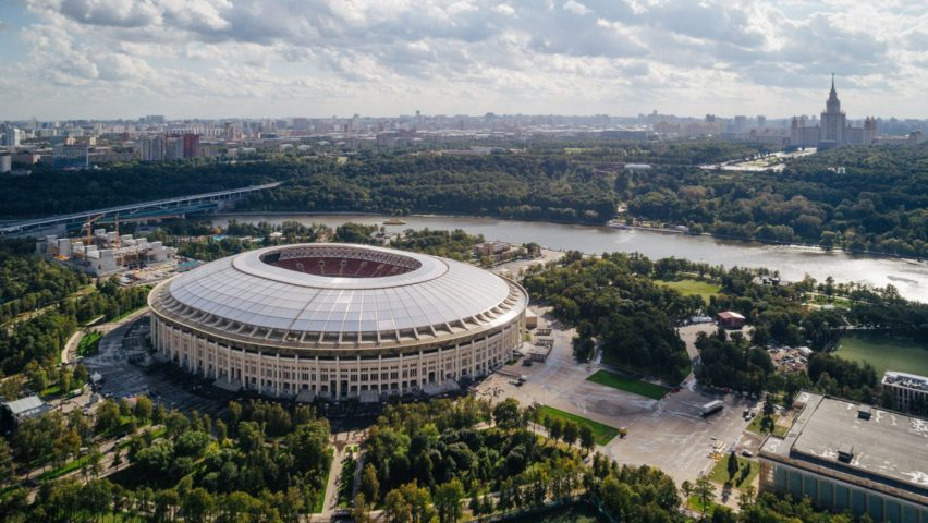 2018 stadiums and sports centres