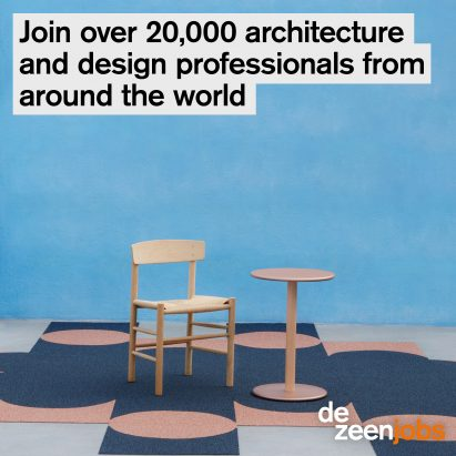 Dezeen Jobs 20,000 accounts