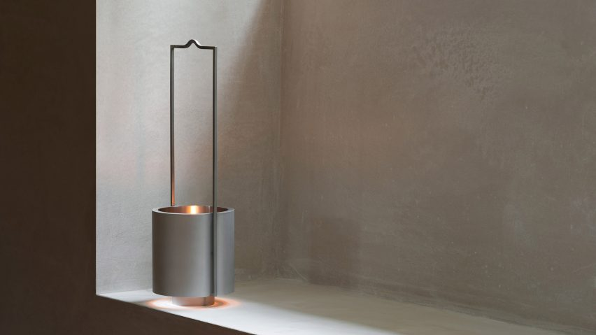 John Pawson designs minimalist lantern for Wästberg's Holocene collection
