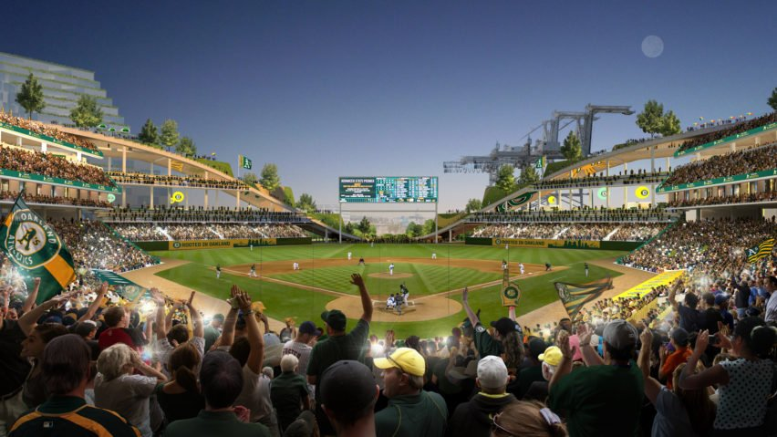 Oakland A's stadium by BIG