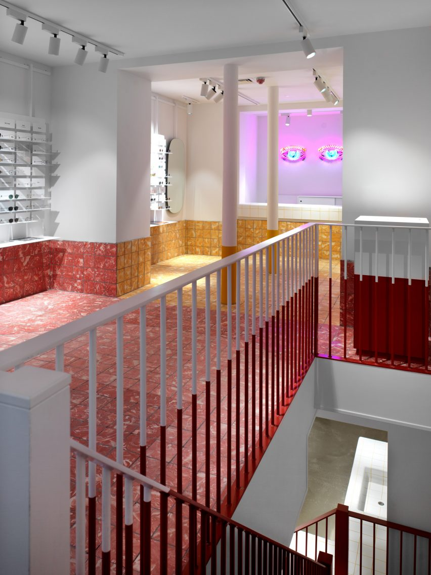 0285a4c1 Ace & Tate's Soho store designed by creative agency Anyways