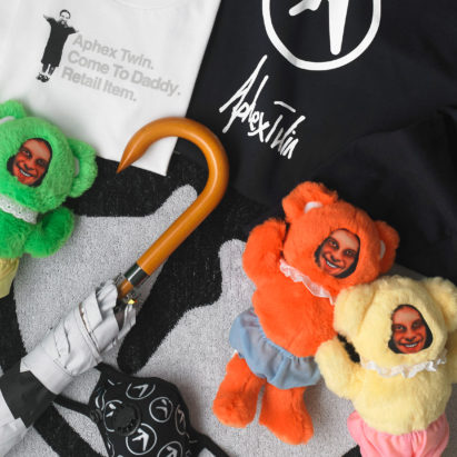 Aphex Twin launches creepy new merch based on his music videos