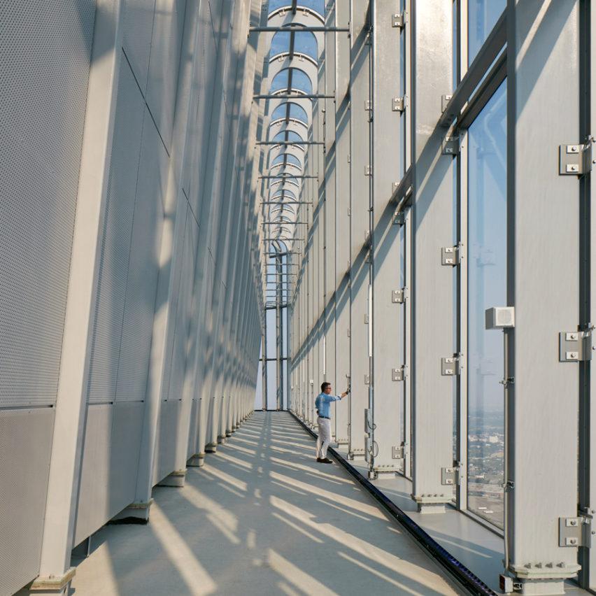 Project architect atArney Fender Katsalidis in London, UK
