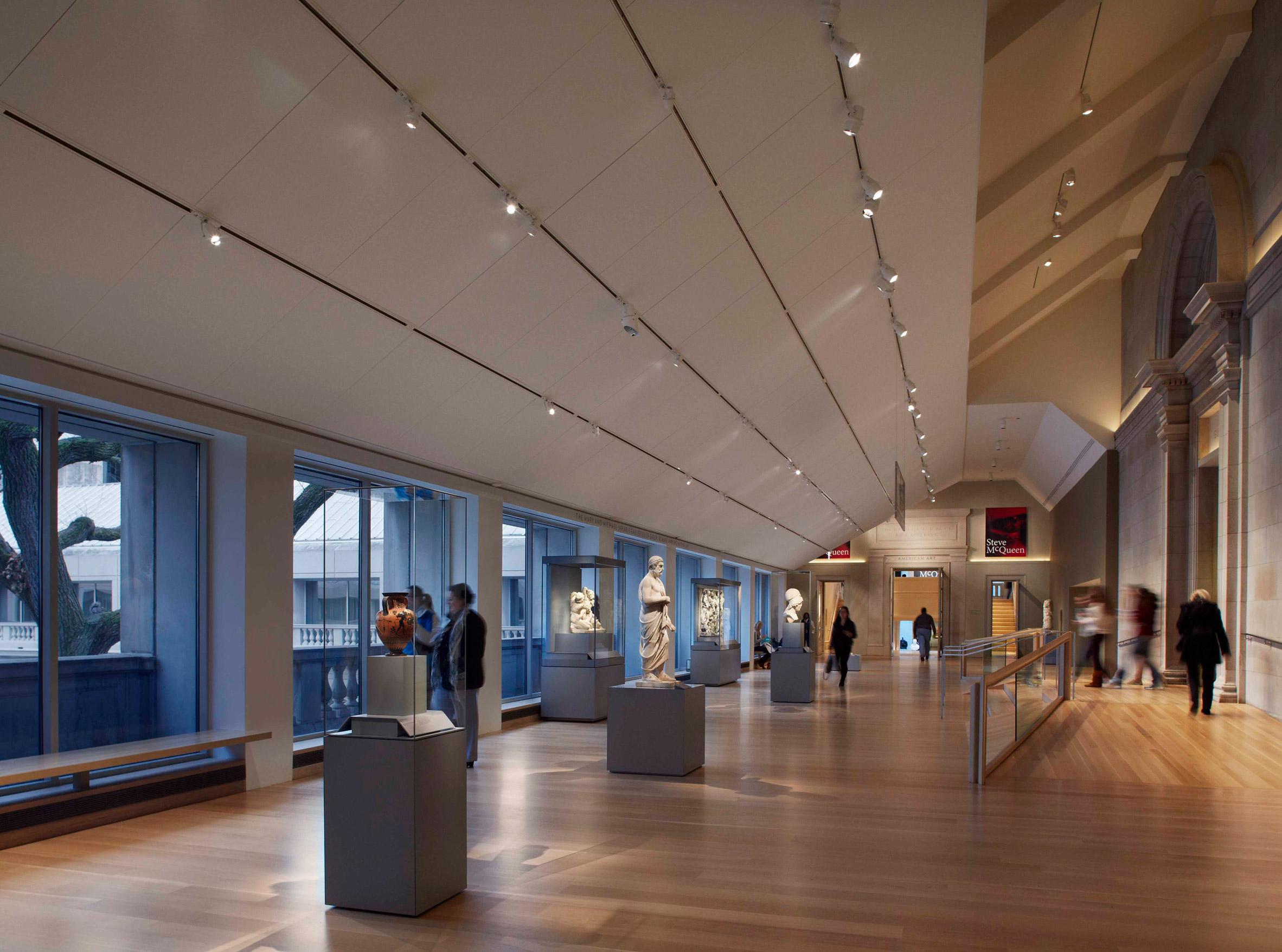 Ancient galleries at Art Institute Chicago