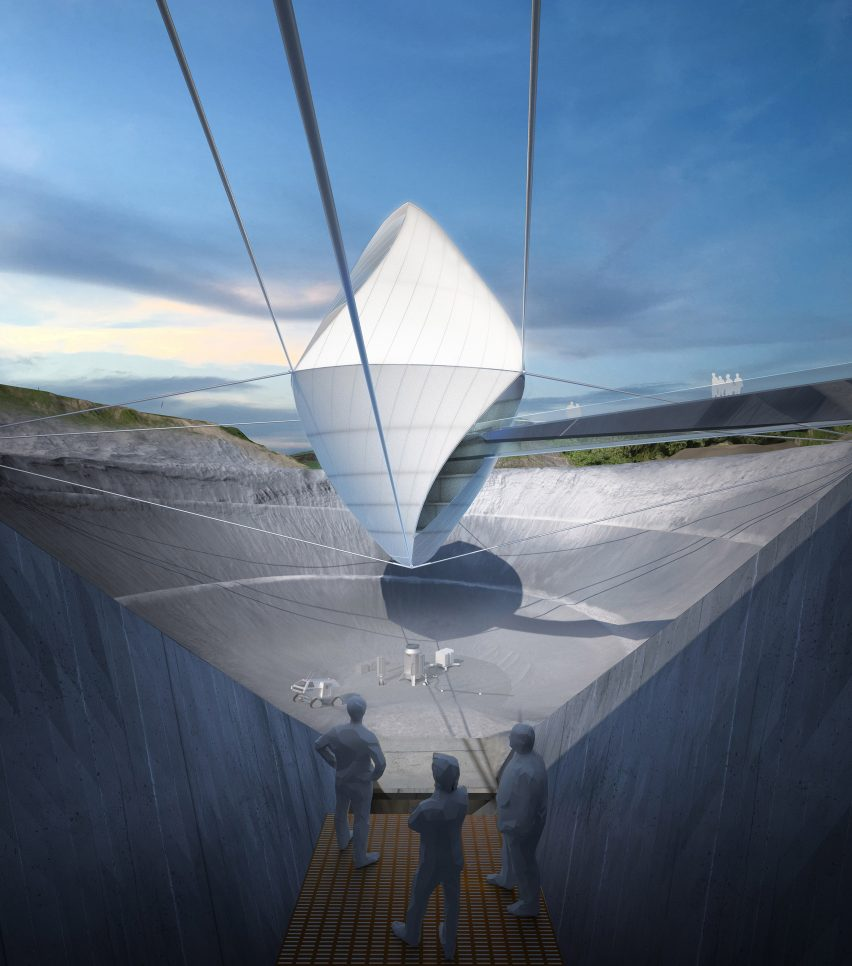 Clouds Architecture Office's Space exploration centre for Avatar X