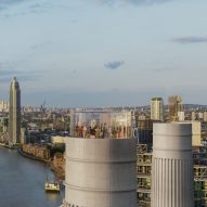 Glass elevator for Battersea Power Station revealed in new visuals
