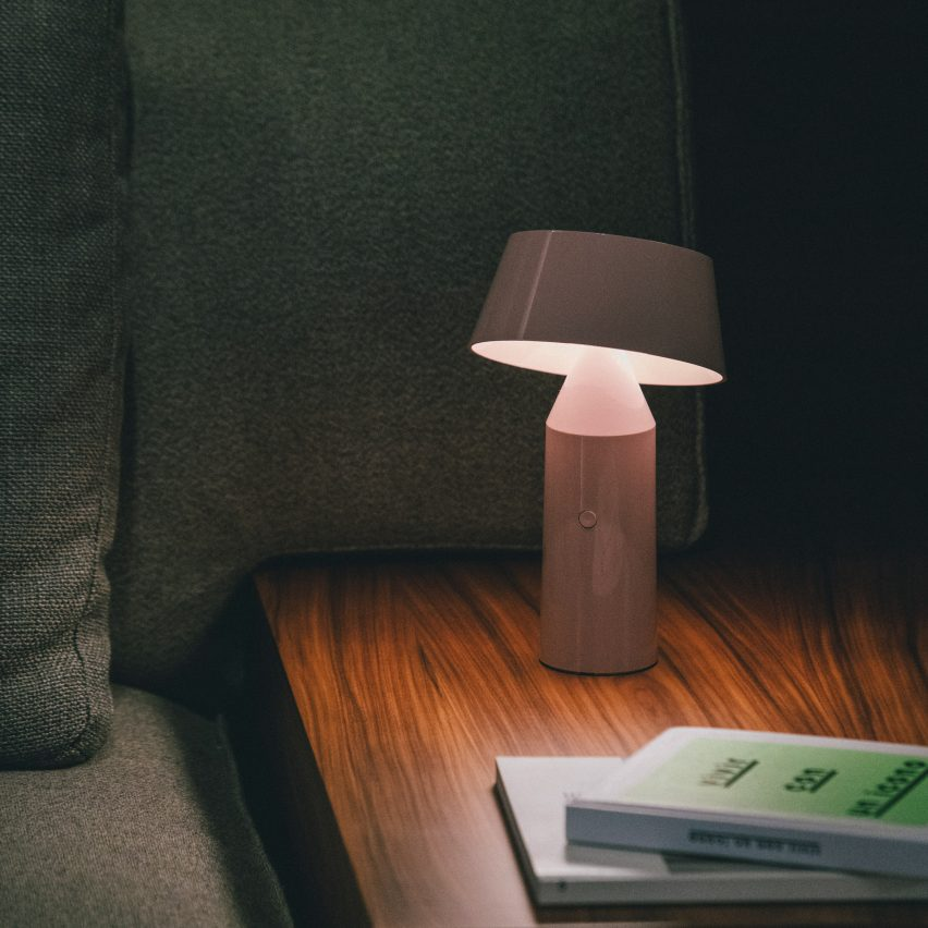 Bicoca lamp by Christophe Mathieu for Marset