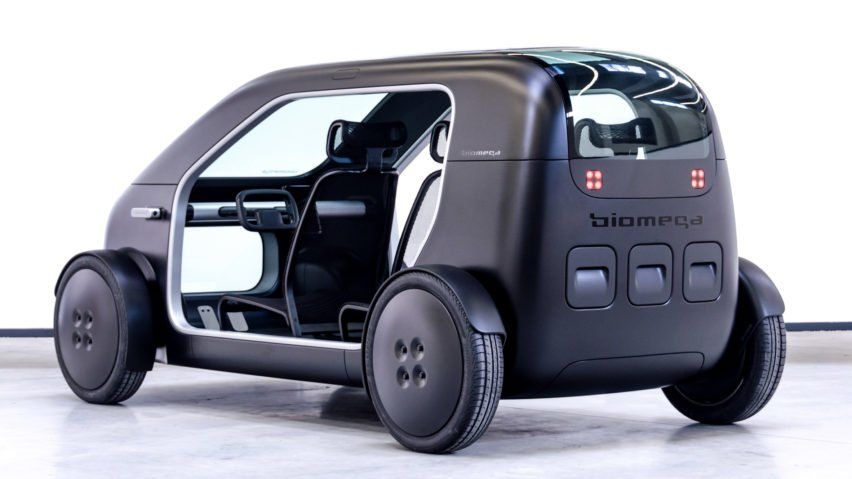 Biomega's electric car concept