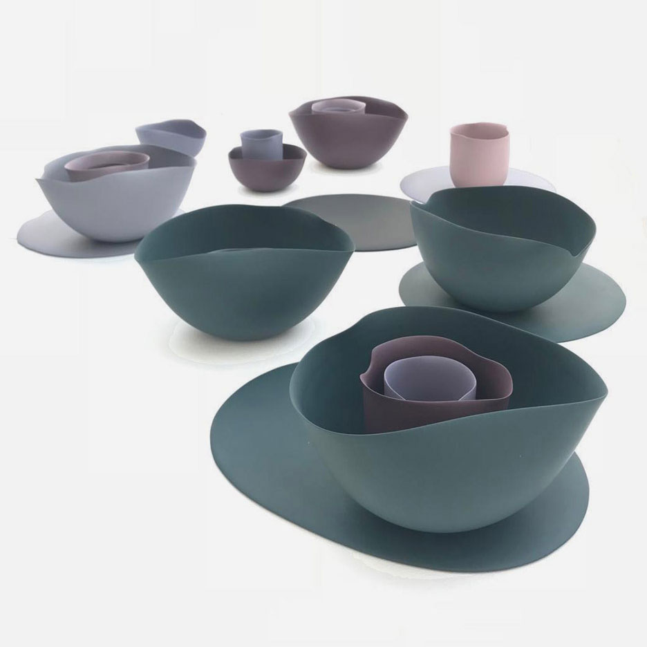 Botanical Gardens bowls by Seo-Yeon Park