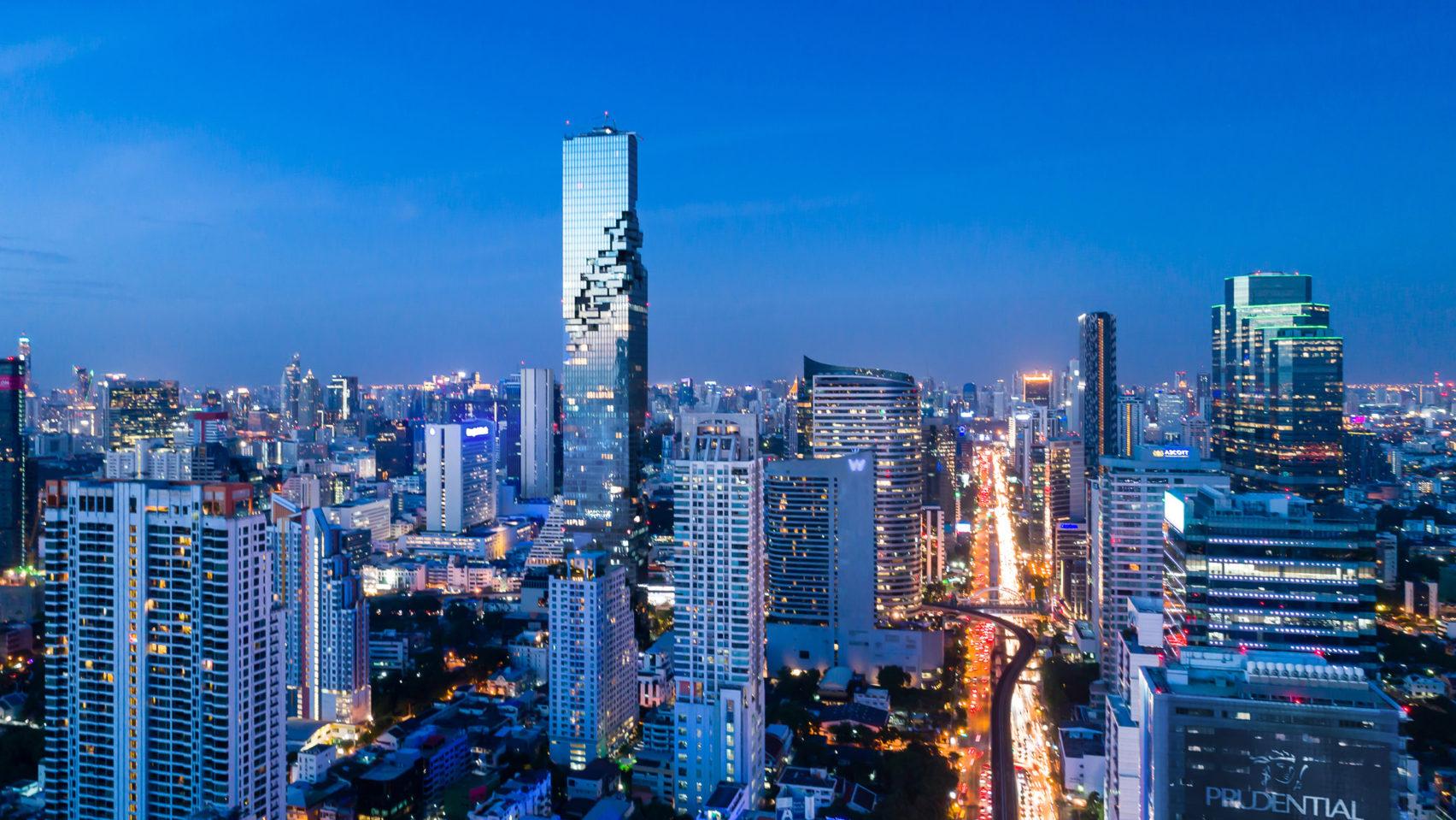Пиксельный МахаНакхон в Бангкоке