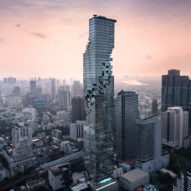Ole Scheeren completes pixelated MahaNakhon tower in Bangkok
