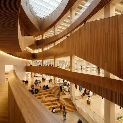 Calgary's New Central Library by Snohetta and Dialog