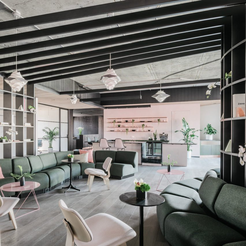 Top 10 office interiors: Canopy, US, by Yves Behar, Amir Mortazavi and Steve Mohebi