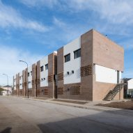 Affordable brick housing built for Argentinian teachers