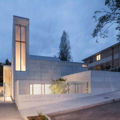 St Mary's Chapel by Cavagnero Associates