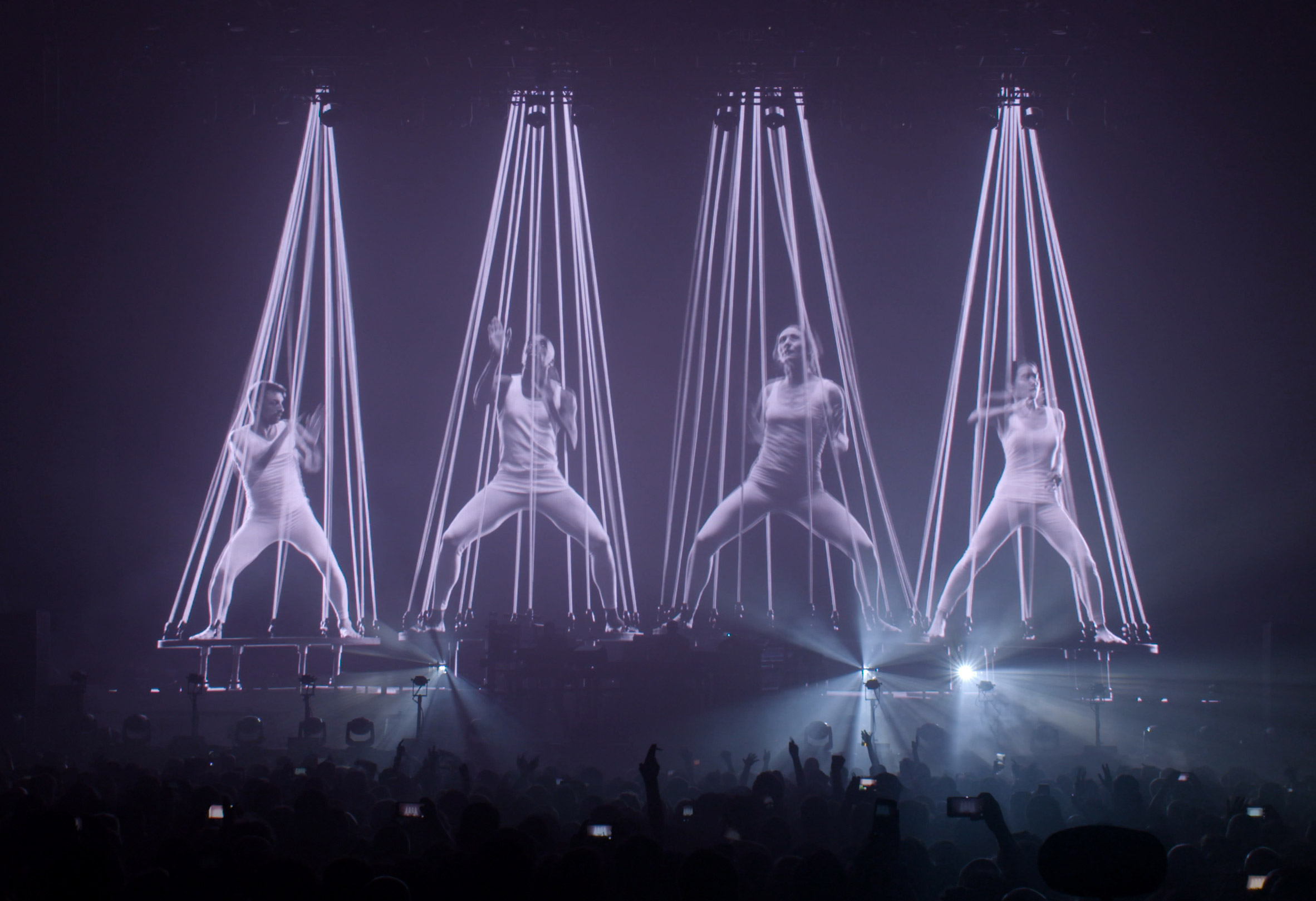 Marcus Lyall and Adam Smith have designed live shows for electronic music duo The Chemical Brothers for over 25 years