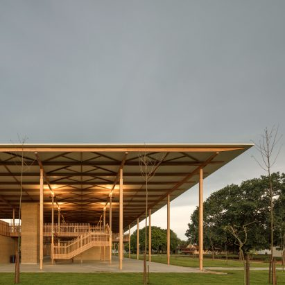 Children Village in Brazilian rainforest named world's best new building by RIBA