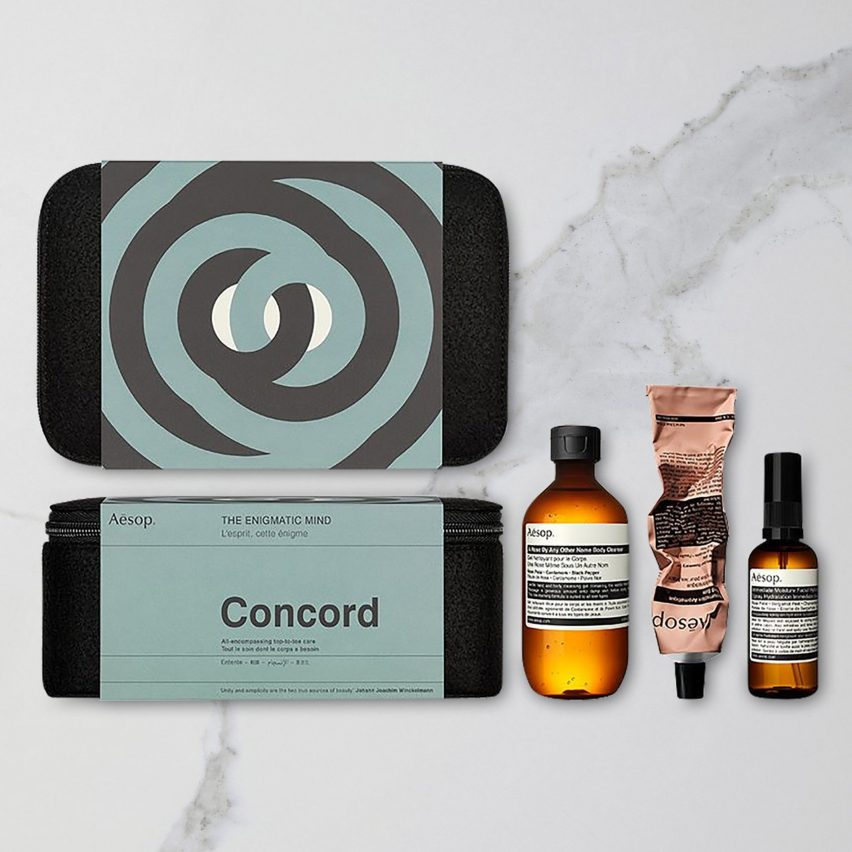 Christmas 2018 gifts for architects and designers: Concord by Aesop