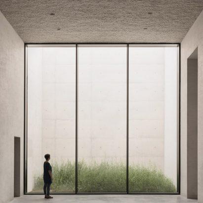 Crematorium Siesegem by KAAN Architecten