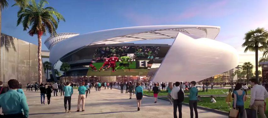 Club Internacional de Futbol by Arquitectonica