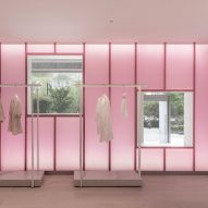 Lukstudio creates theatrical shop for Chinese fashion brand Dear So Cute