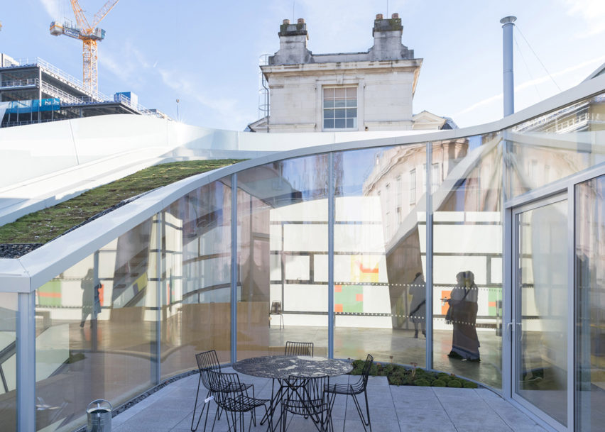 Dezeen Awards architecture winners: Maggie's Centre Barts by Steven Holl Architects