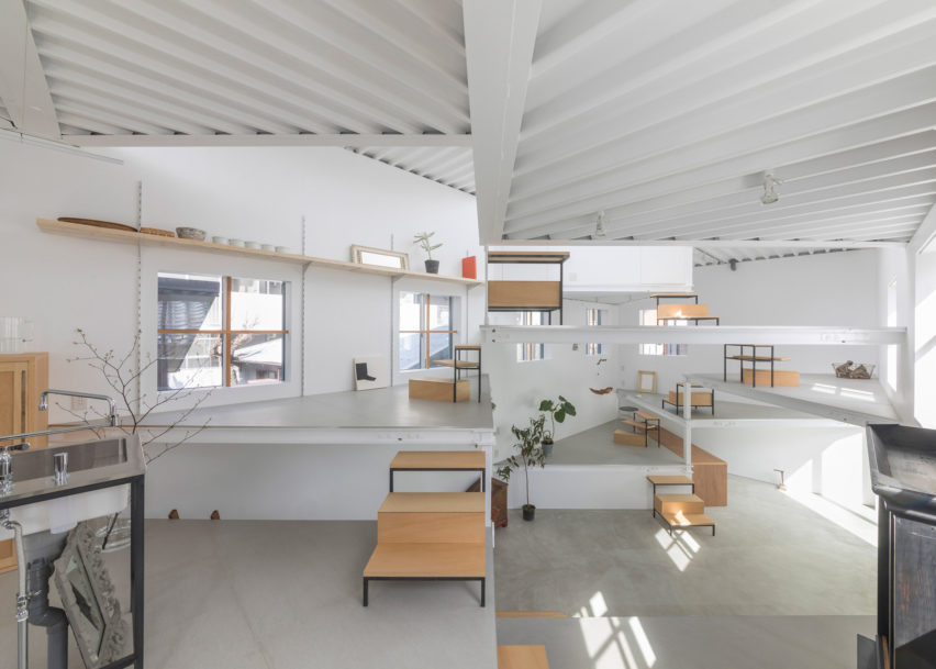 Dezeen Awards architecture winners: House in Miyamoto by Tato Architects