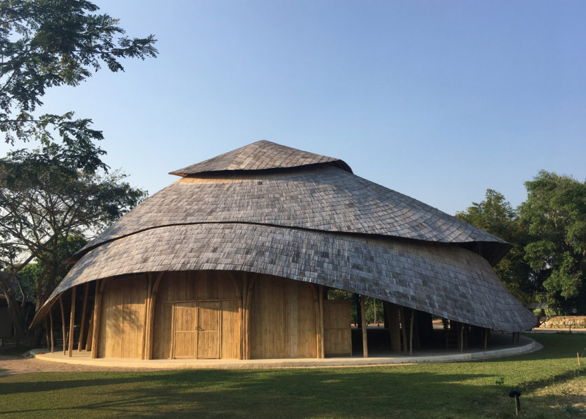 Dezeen Awards architecture winners: Bamboo Sports Hall by Chiangmai Life Architects