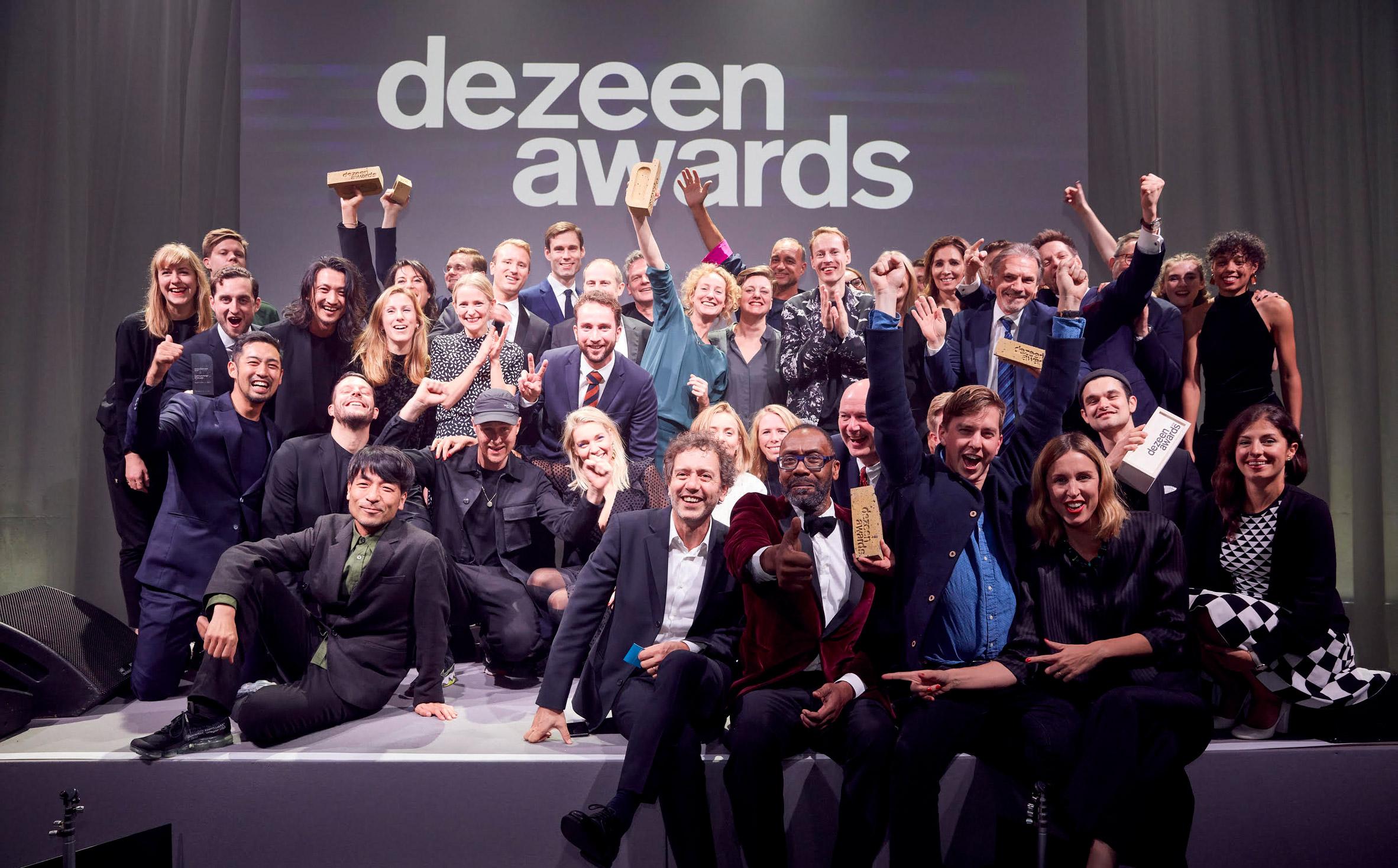 Dezeen Awards winners revealed in London ceremony last night