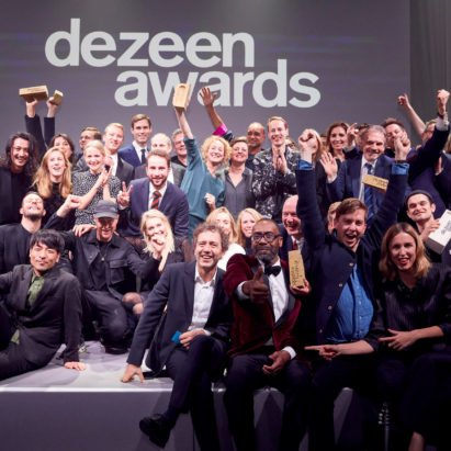Dezeen Awards winners revealed in London ceremony last night