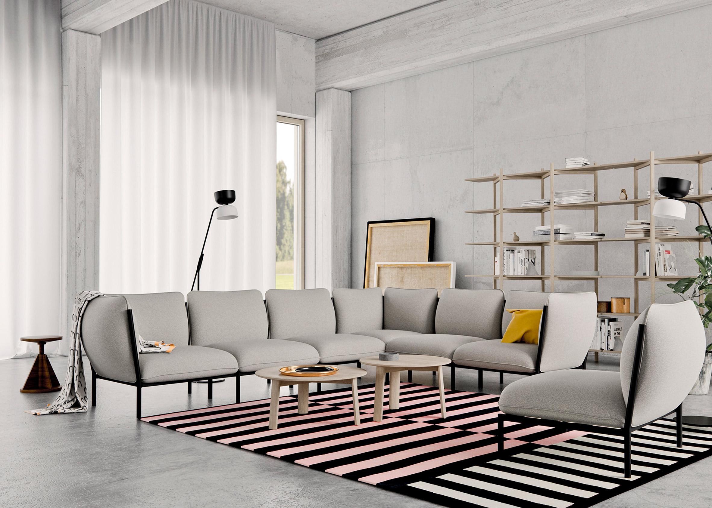 Dezeen Awards design winners: Kumo Modular Sofa by Anderssen & Voll for Hem