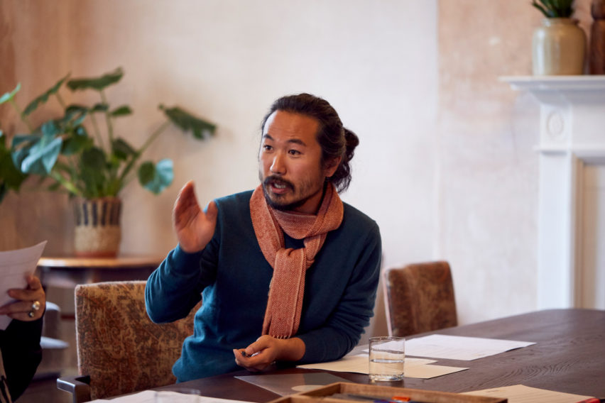 Je Ahn was part of the interiors master jury