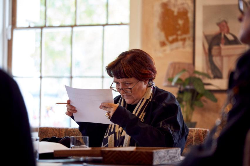 Patrizia Moroso was part of the interiors master jury