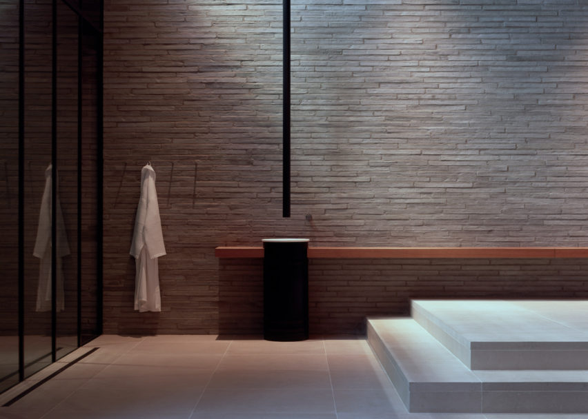 Dezeen Awards interiors winners: London Spa by Richard Bell Architecture
