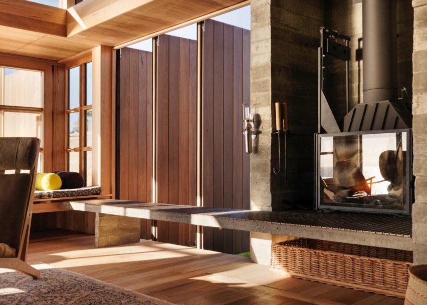 Dezeen Awards interiors winners: Captain Kelly's Cottage by John Wardle Architects