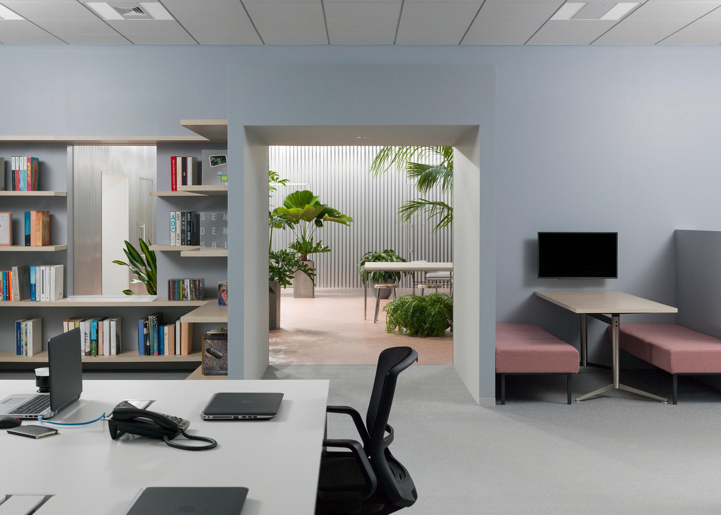 Dezeen Awards interiors winners: Office with a Patio by Shogo Onodera and Tsukasa Okada
