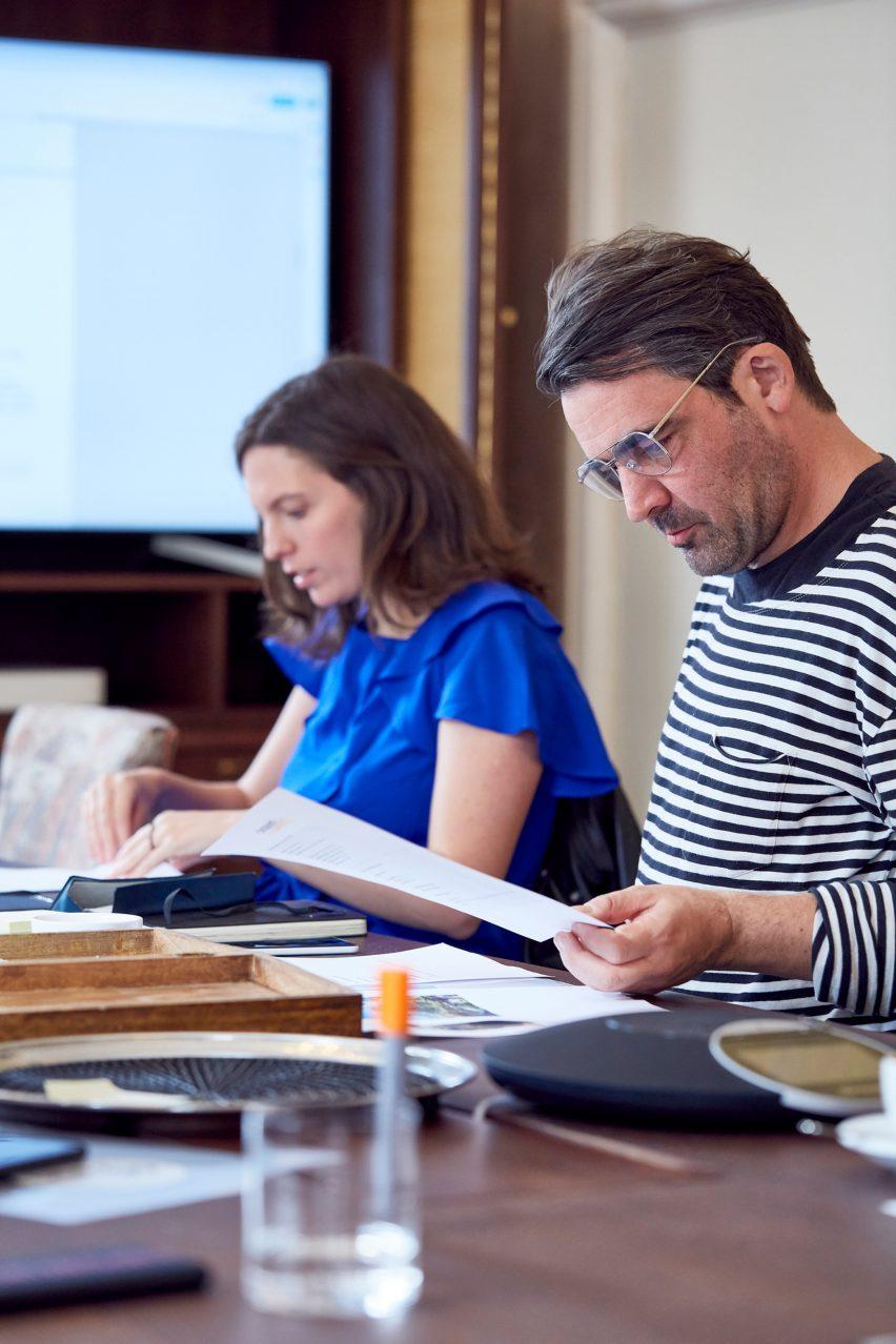 Paloma Strelitz and Sam Jacob