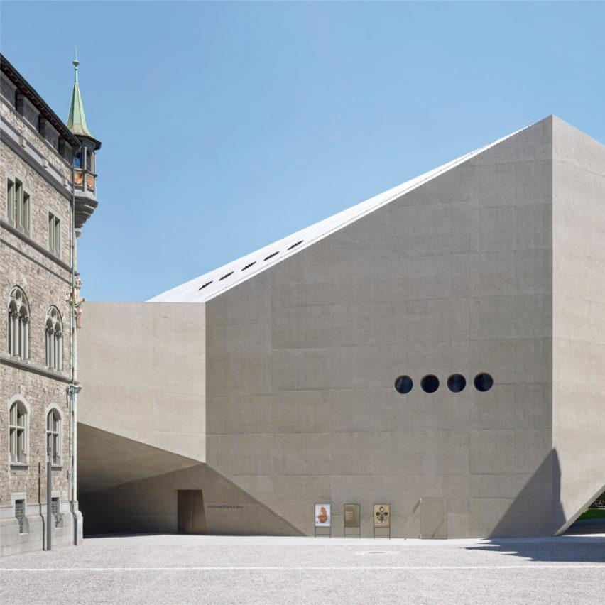 Christ & Gantenbein and Bureau Spectacular named best architecture studios at Dezeen Awards