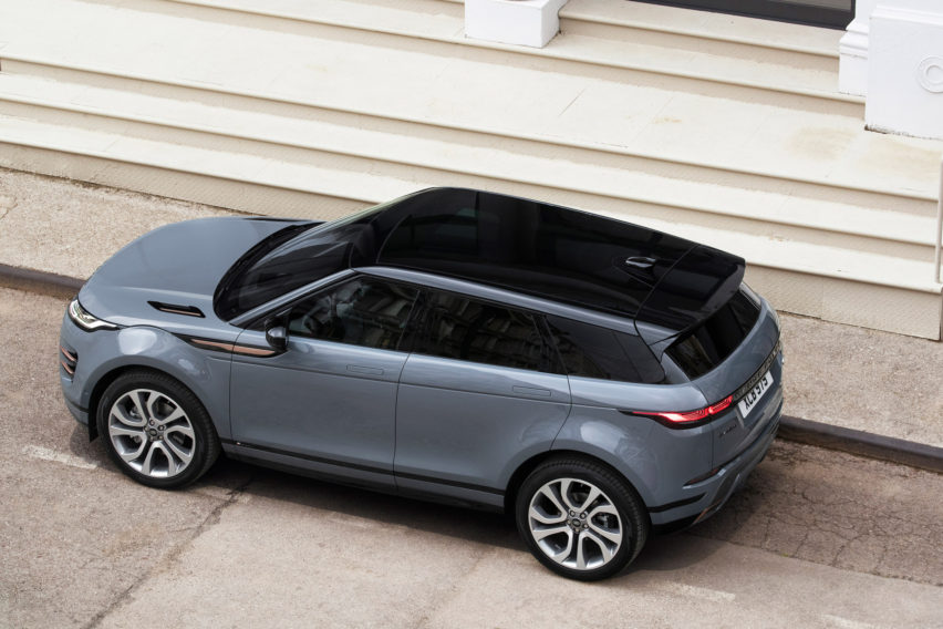 New Range Rover Evoque SUV car by Land Rover