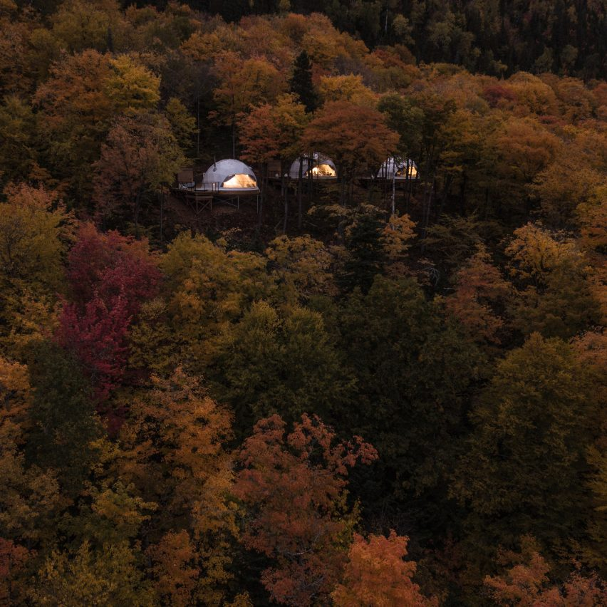 Best remote hotels: Domes Charlevoix by Bourgeois Lechasseur