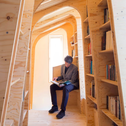 Loft Library, Waltham Forest, by Arboreal Architecture