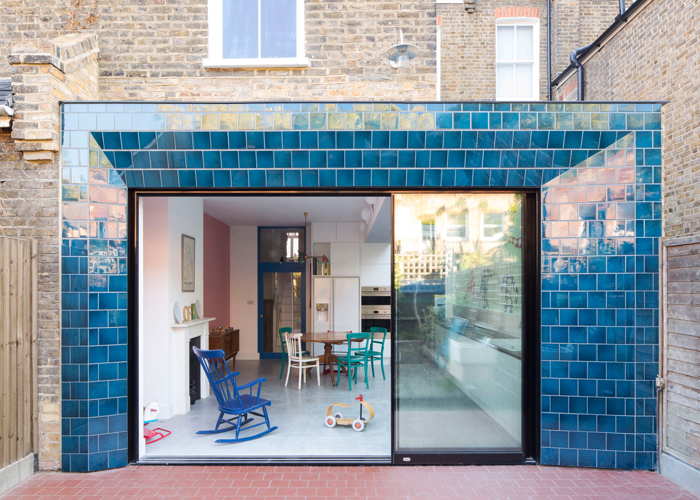 Tile House, Hackney, by Beasley Dickson Architects