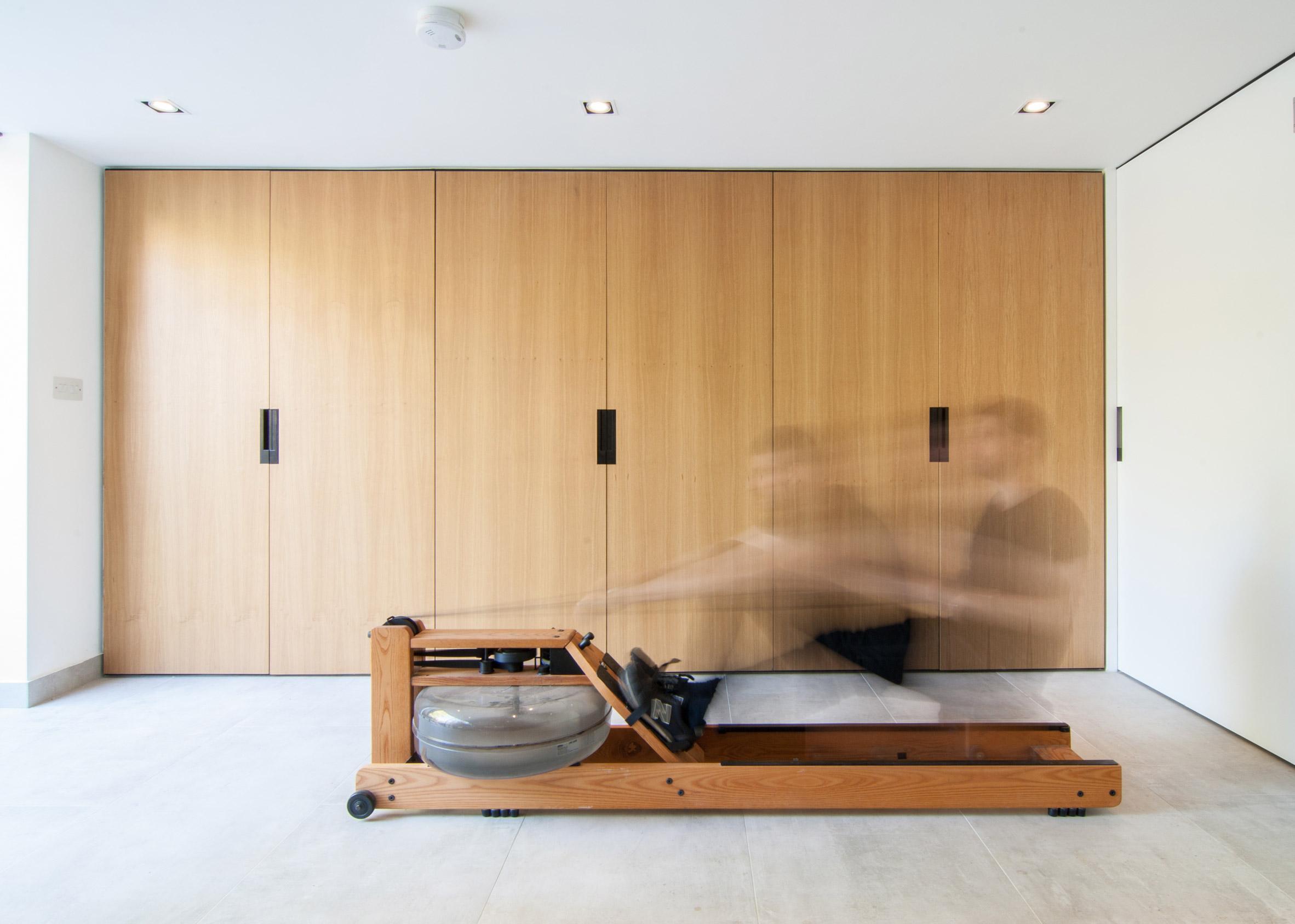 Woodworker's Studio, Tufnell Park, by Bradley Van Der Straeten