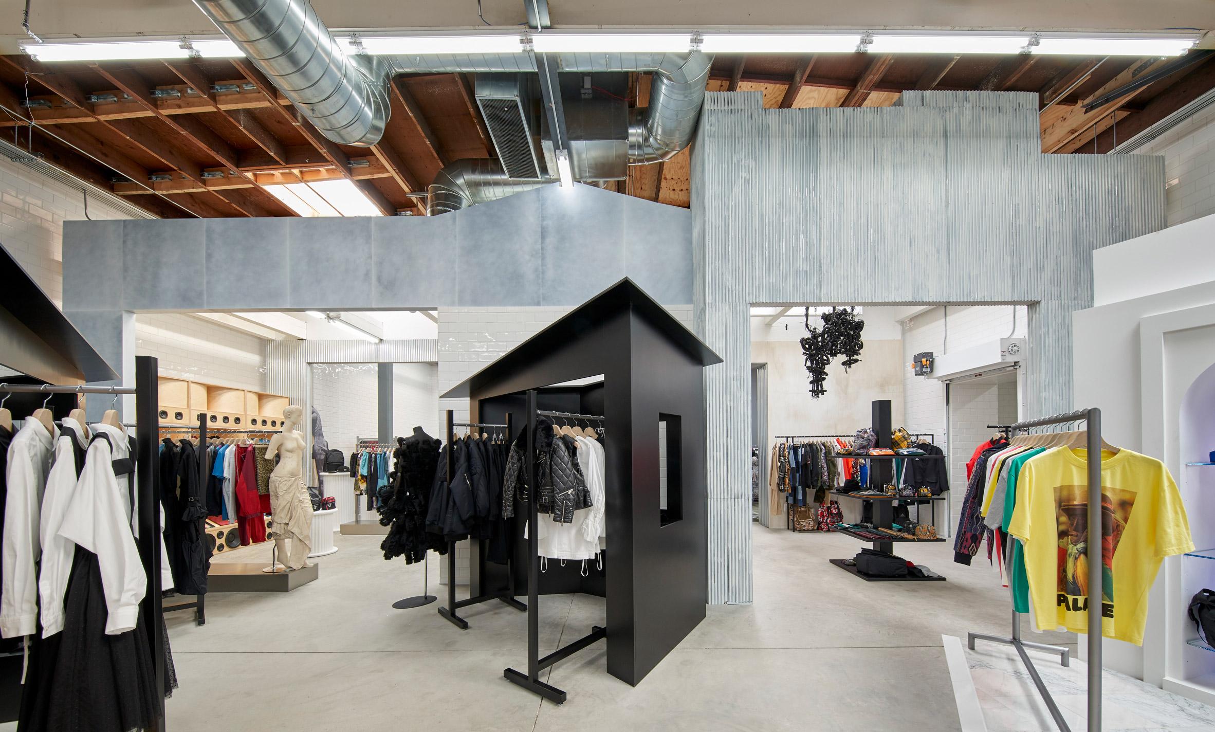 Dover Street Market S Sixth Fashion Destination Opens In La