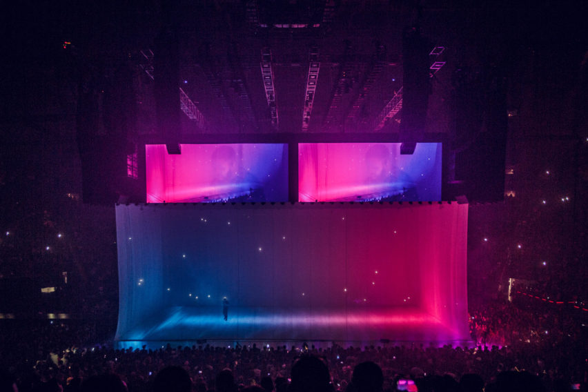 Willo Perron speaks to Dezeen on his set design for Canadian rapper Drake's latest tour.