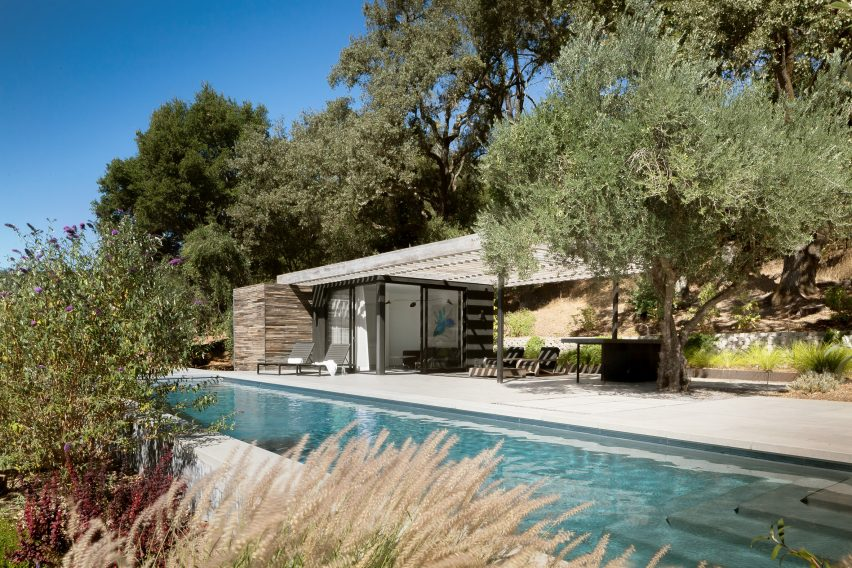 Dry Creek Pool House by Ro Rockett Design